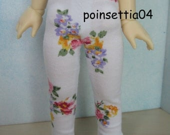 Super Dollfie Yo SD White Flower Leggings
