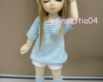Super Dollfie Yo SD Lovely Blue Outfit Set