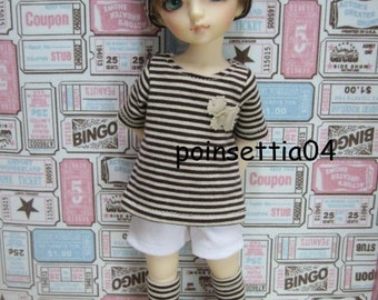 Super Dollfie Yo SD Lovely Brown Outfit Set