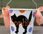 Personalized Halloween buckets-many designs available