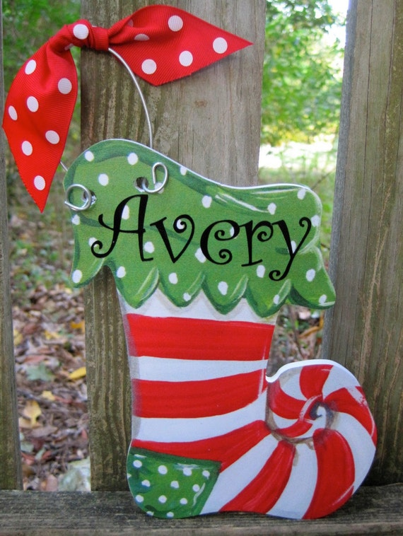 Items similar to sale personalized christmas ornaments on for Special xmas decorations