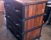 Vintage Industrial Ellis Dresser / French Industrial
