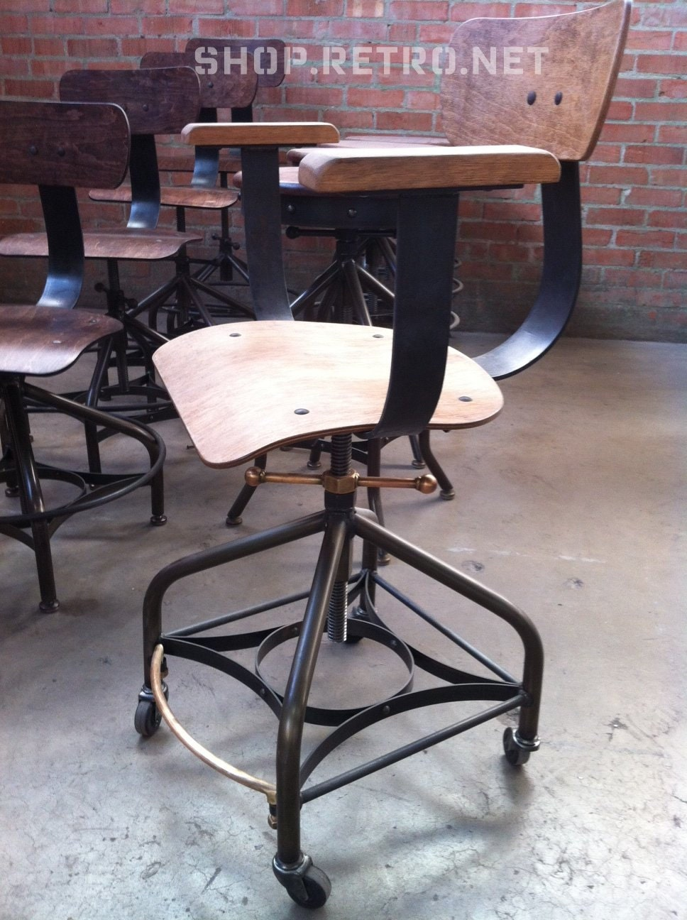17 vintage industrial dining chairs eames copper dkr wire c