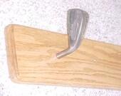 Hand Made Red Oak Golf Club Coat Rack