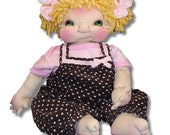 Uht Oh Soft Sculpture Baby by Ree Medina at Tipsy Teacup Creations