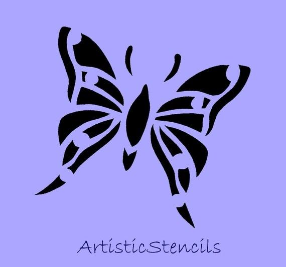 Butterfly STENCIL  4x4