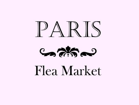 Paris Flea Market Stencil No 2