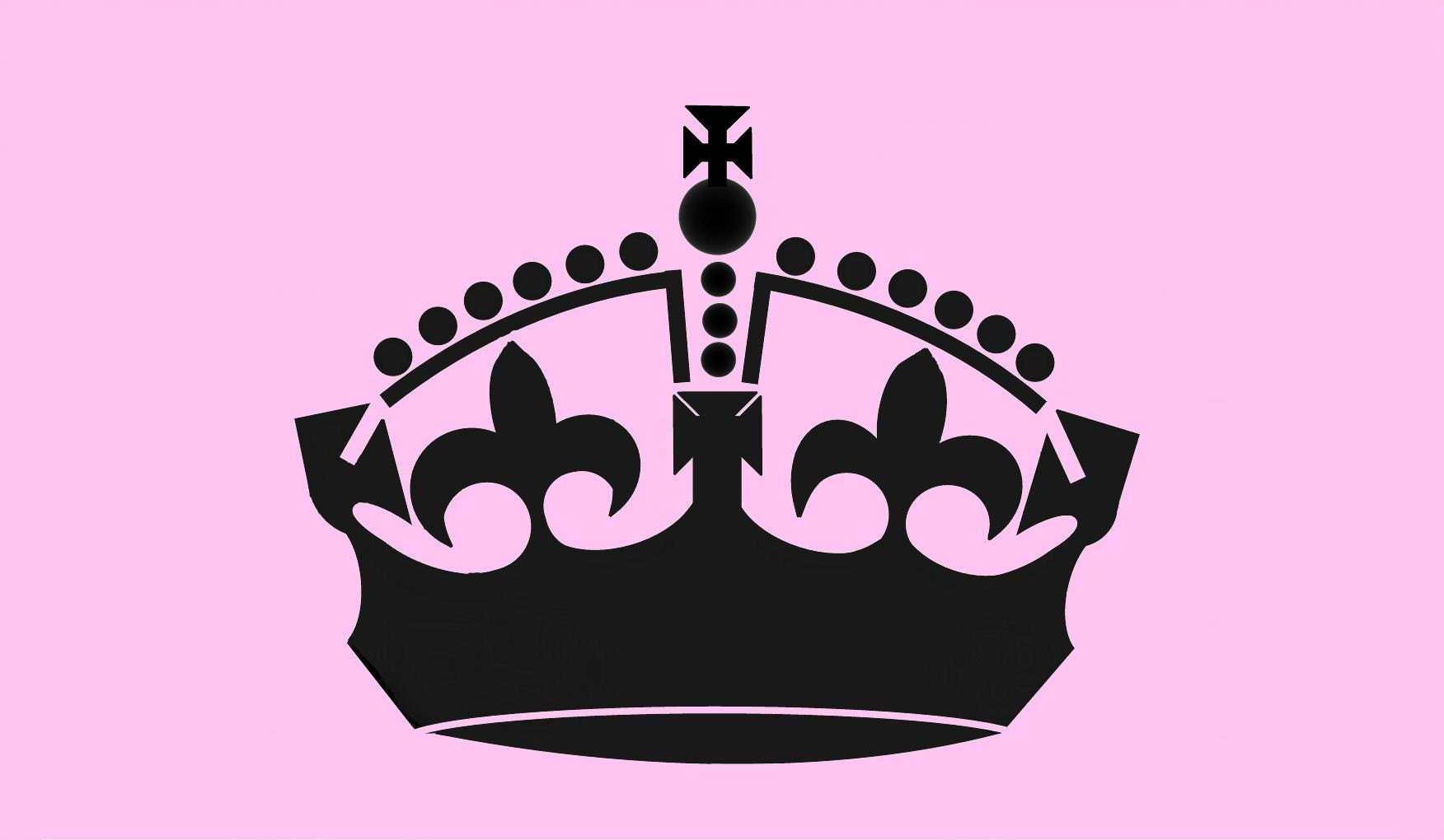 Royal Crown Reusable Stencil 4 Wall Art Home Decor Wall Mural