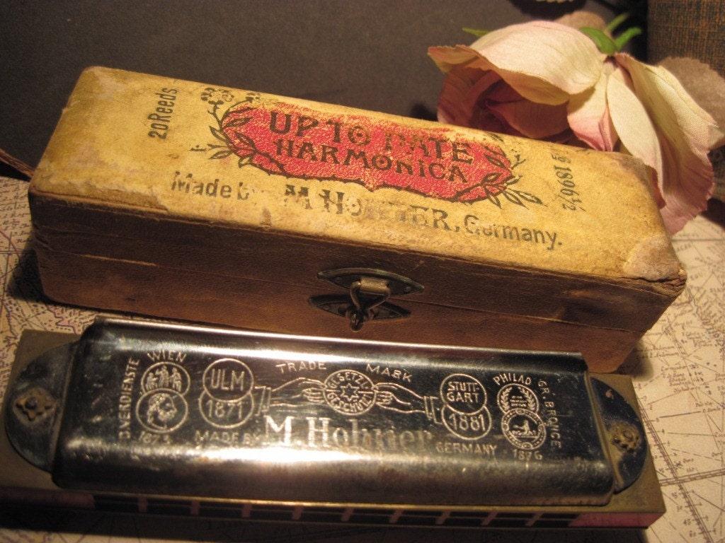 Vintage Hohner Harmonicas 53