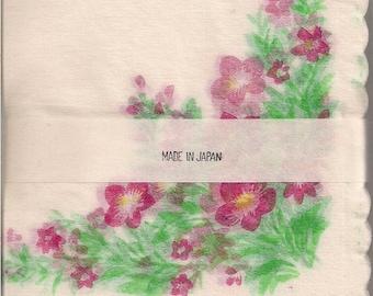 Rice Paper Napkins 1950'S 100 Vintage Napkins