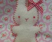 Cute Mini  Woollen Bunny