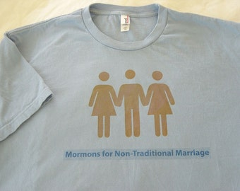 Mormons for Non-Traditional Marriage T-Shirt