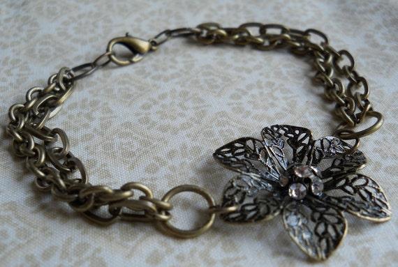 Jewelry Box Find, A Golden Tone Bracelet