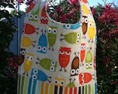 Baby Bib Anne Kelle Urban Zoologie Owls in Bermuda