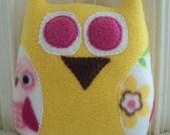 Owls on a Branch Plush Owl - Custom Owl Pillow