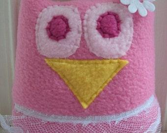 Ballerina Owl Pillow - Ballerina Owl - Tooth Fairy Pillow for her - Plush Owl