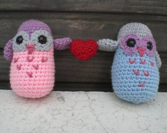 Owl Always Love You- pair of valentine owls