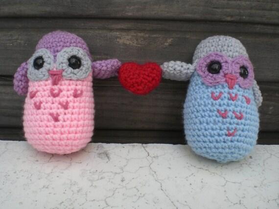 Owl Always Love You- pair of valentine owls