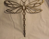 Dragonfly Metal Wall and Garden Art