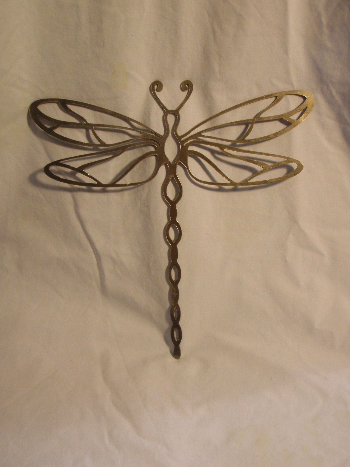 Dragonfly metal wall and garden art for Dragonfly wall art