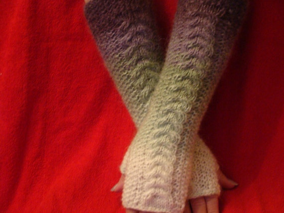 Extra LONG HAND WARMERS Stylish Soft Warm