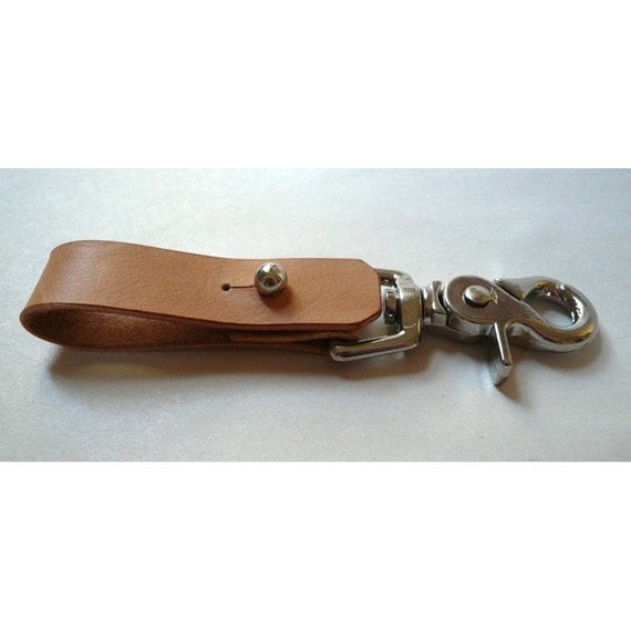 Leather Keychain 04 for Belts