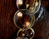 Pick Your Own MONOCLE Necklace - 5 to choose from - LARGE