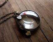 See Through Your Heart Monocle Necklace