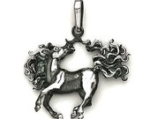 HORSE PENDANT Sterling Silver  511-4