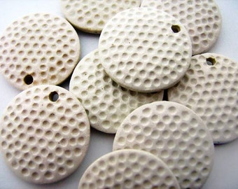 10 Large Golf Ball Pendants