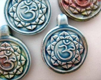 4 Ohm raku beads