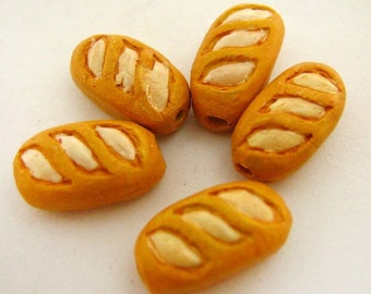 4 Tiny Baguette Beads - CB812