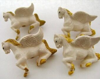 10 Large Pegasus Beads - LG248