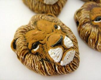 20 large lion heads