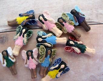 10 Tiny Mixed Fairy Beads