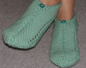 Pair of Mint Julip Pocket Slippers