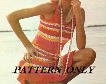Crochet pattern - sundress