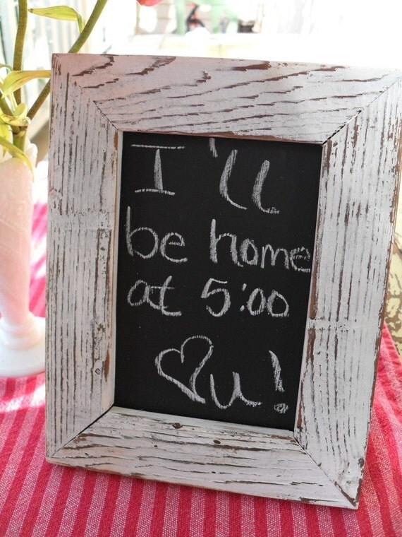 1 Table Top Free Standing Chalkboard