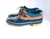classic duck shoes / vintage field shoes / 80s duck boots