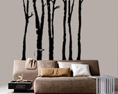 Forest Tree Vinyl Decal