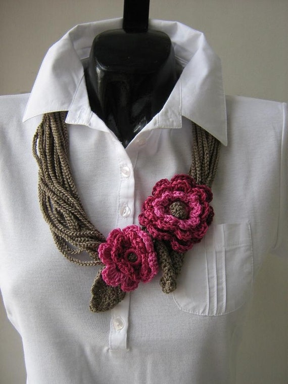 Crochet Jewelry : CROCHET JEWELRY by Suzann61 on Etsy