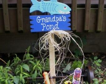Yard Sign 67- Grandpa's Pond