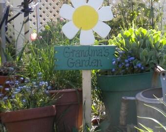 Yard sign 360 -  Grandma's Garden Daisy