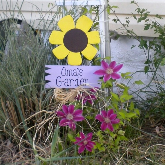 Yard Sign 59 - Oma's Garden