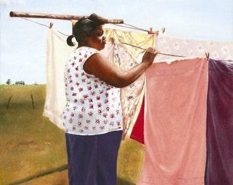 Laundry Day-Print