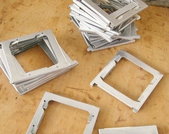 Vintage Metal Slide Frames 20 Piece
