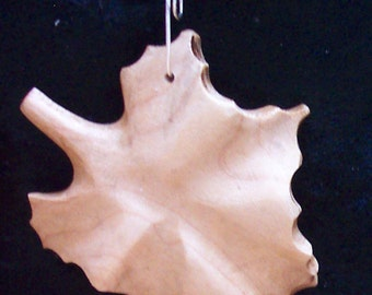 Sycamore leaf made from Maple wood