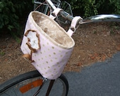 Pink Bike Basket
