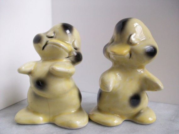 Hugging ducks salt and pepper shakers by saltandpeppermania - Salt and pepper shakers hugging ...