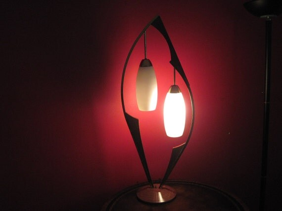 Reserved for  Layla Large Danish Modern Table Lamp